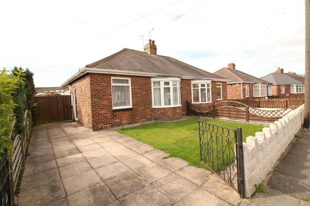2 Bedrooms Semi Detached Bungalow for sale in Firtree Crescent, Newcastle Upon Tyne