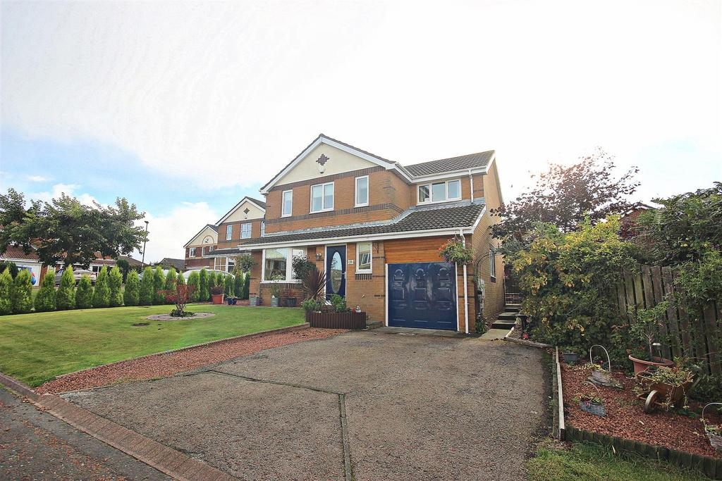 4 Bedrooms Detached House for sale in Redhouse Close, Sacriston, Durham