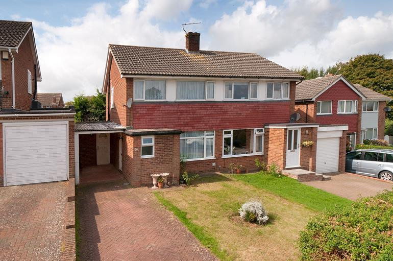 3 Bedrooms Semi Detached House for sale in Richmond Way Loose Maidstone Kent, ME15 6BW