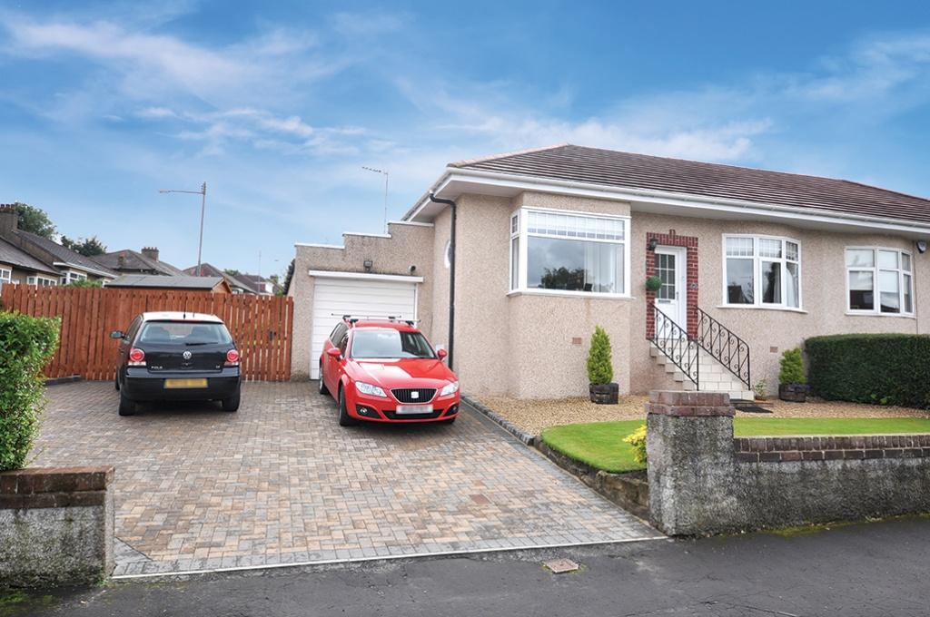 2 Bedrooms Semi Detached House for sale in 44 Muirhill Avenue, Muirend, G44 3HS