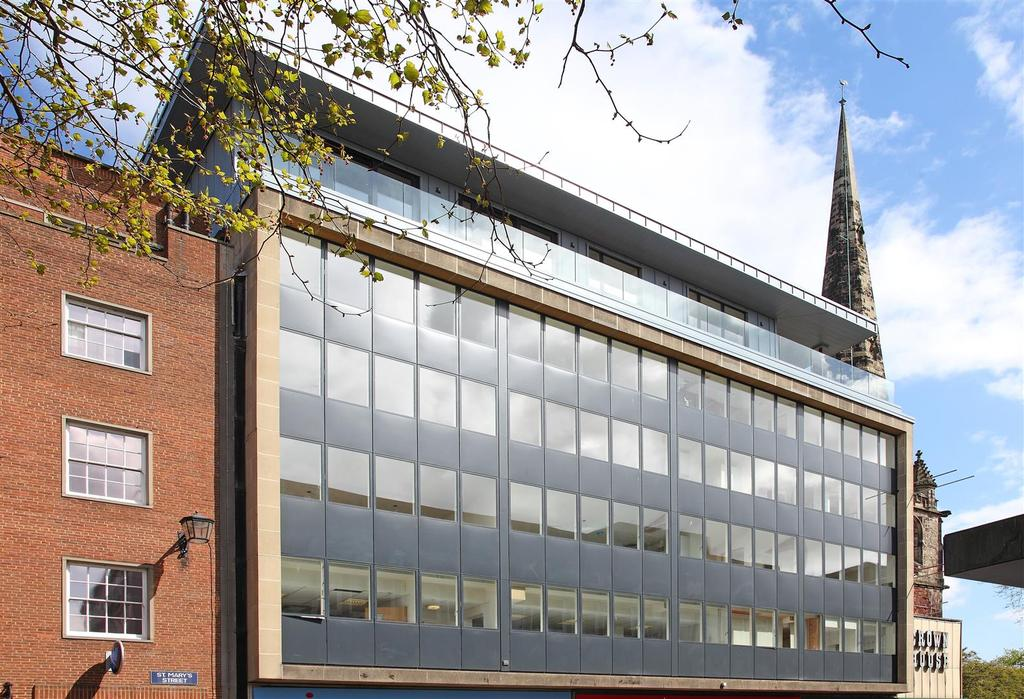 2 Bedrooms Apartment Flat for sale in Crown House, St Marys Street, Shrewsbury