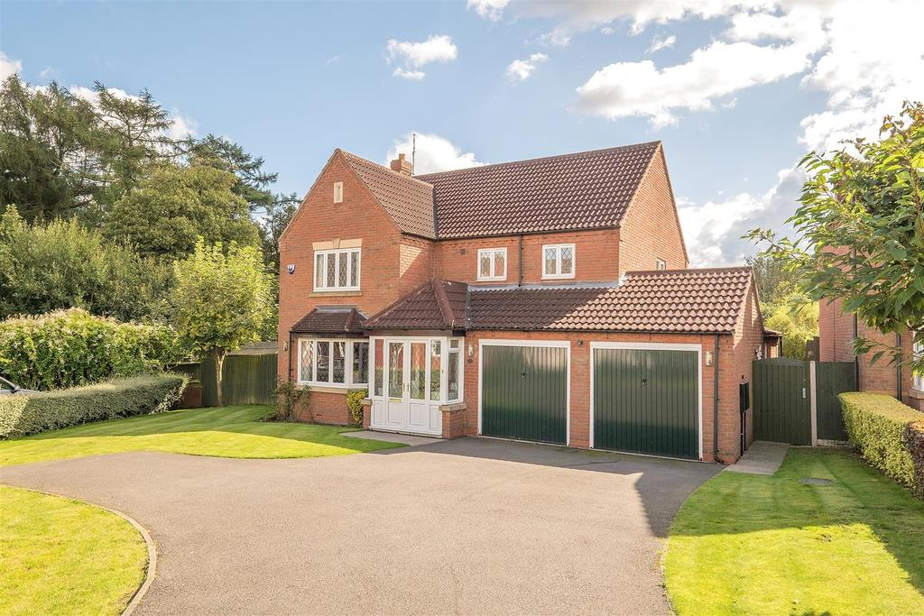 5 Bedrooms Detached House for sale in Oak View Rise, Harlow Wood