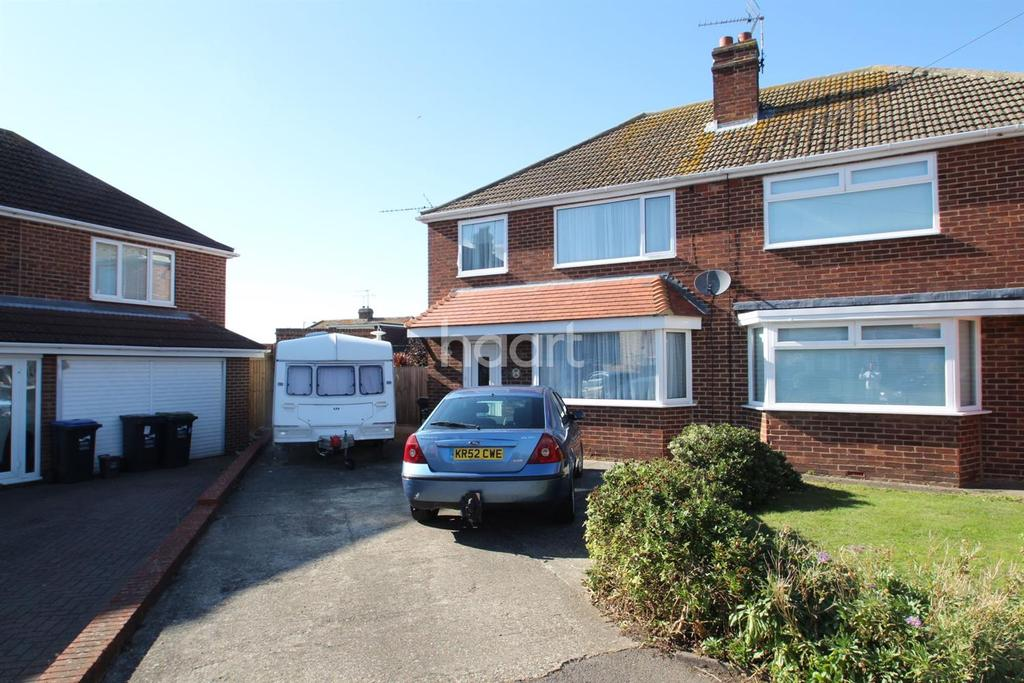 3 Bedrooms Semi Detached House for sale in Southwood Gardens, Ramsgate, CT11