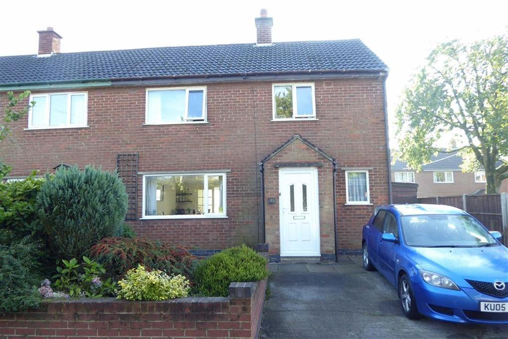 3 Bedrooms Semi Detached House for sale in Everard Crescent, Stanton Under Bardon