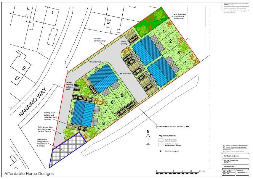 Land Commercial for sale in Land in between 35 41 Nanaimo Way, Kingswinford
