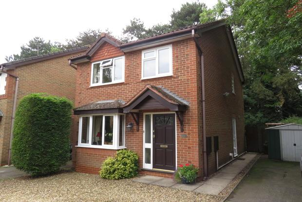 3 Bedrooms Detached House for sale in Baldwin Close, Spinney Hill, Northampton, NN3