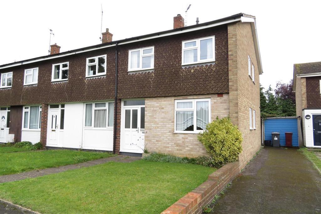 3 Bedrooms End Of Terrace House for sale in Corwen Road, Tilehurst, Reading