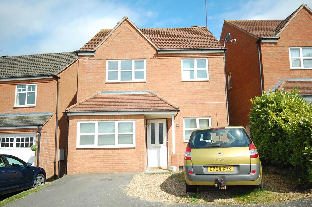 4 Bedrooms Detached House for sale in Holkham Close, Corby