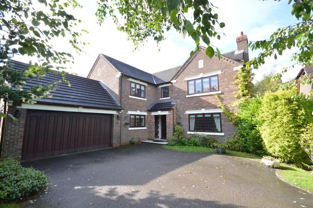 4 Bedrooms Detached House for sale in Stoneacre Gardens, Appleton, Warrington