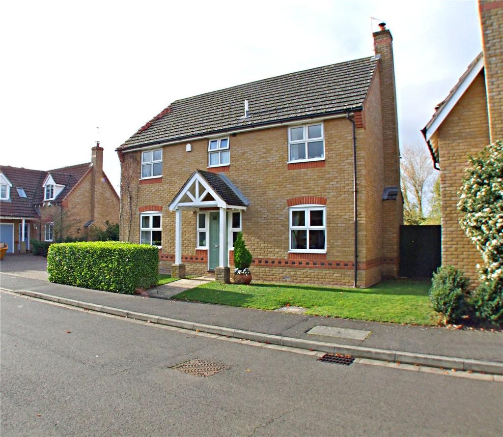 4 Bedrooms Detached House for sale in Perkins Lane, Maxey, Peterborough, Cambridgeshire, PE6