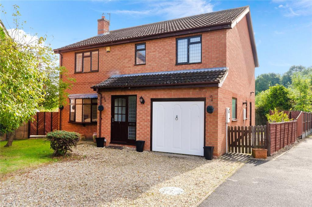 4 Bedrooms Detached House for sale in Whitehouse Road, Ruskington, Sleaford, Lincolnshire, NG34
