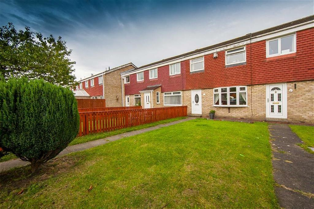 3 Bedrooms Terraced House for sale in Hotspur Road, Hadrian Lodge West, Wallsend, NE28