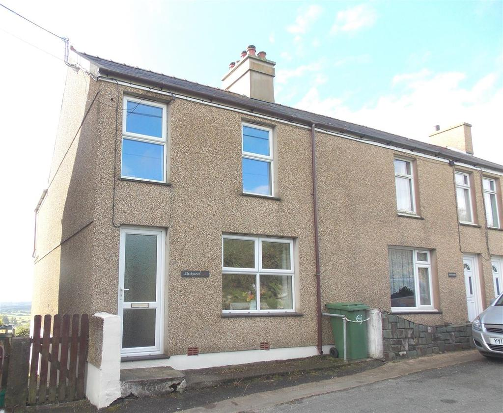 3 Bedrooms End Of Terrace House for sale in Llithfaen, Pwllheli