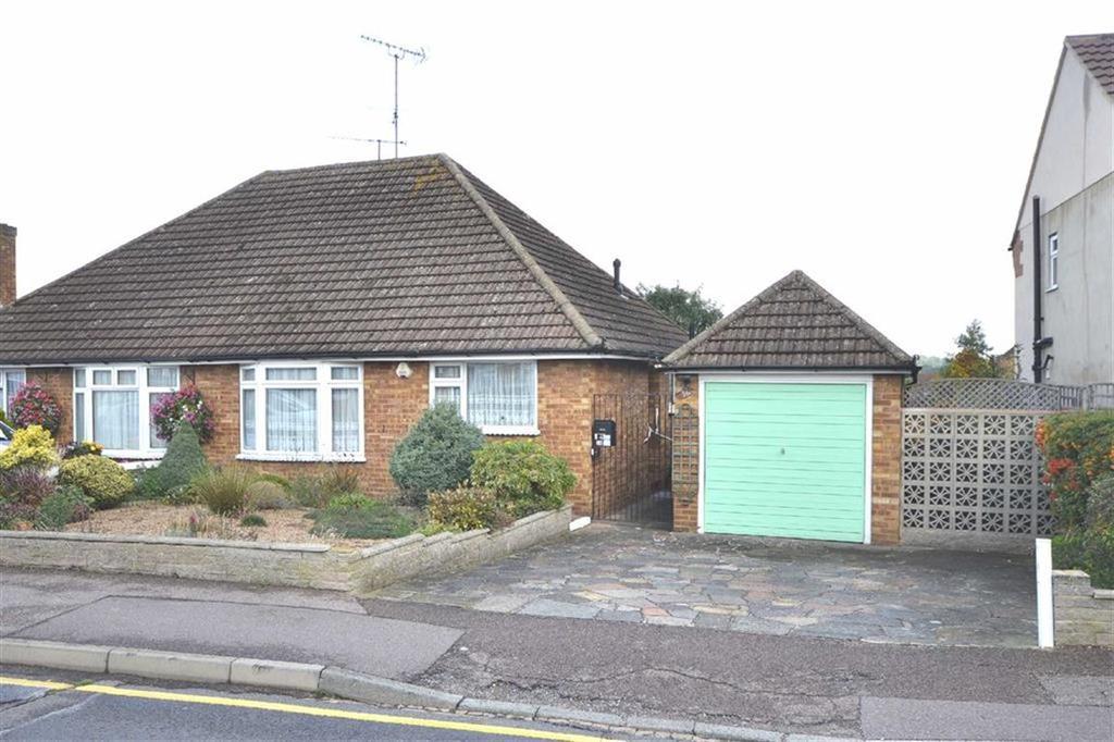 2 Bedrooms Semi Detached Bungalow for sale in Alderwood Drive, Abridge, Essex, RM4