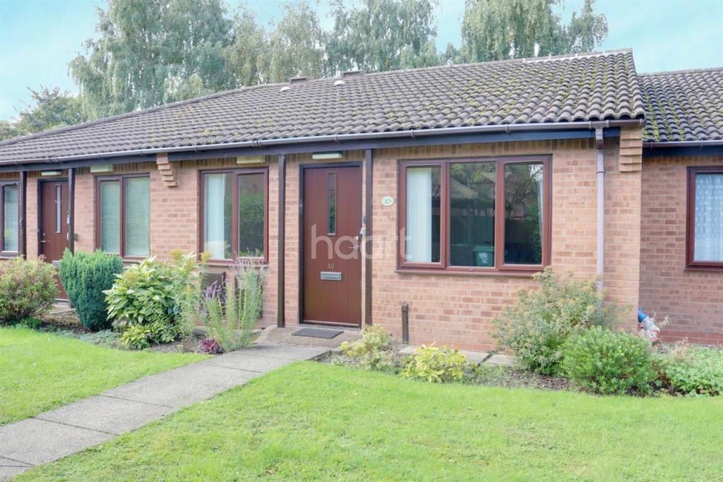2 Bedrooms Bungalow for sale in De Lisle Court, Loughborough
