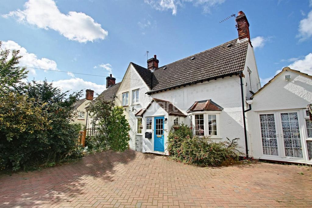 2 Bedrooms Semi Detached House for sale in George Green Villas, Little Hallingbury