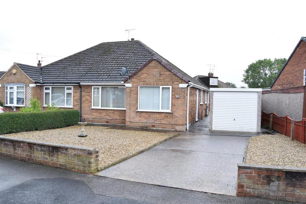 2 Bedrooms Semi Detached Bungalow for sale in Marples Avenue, Mansfield Woodhouse