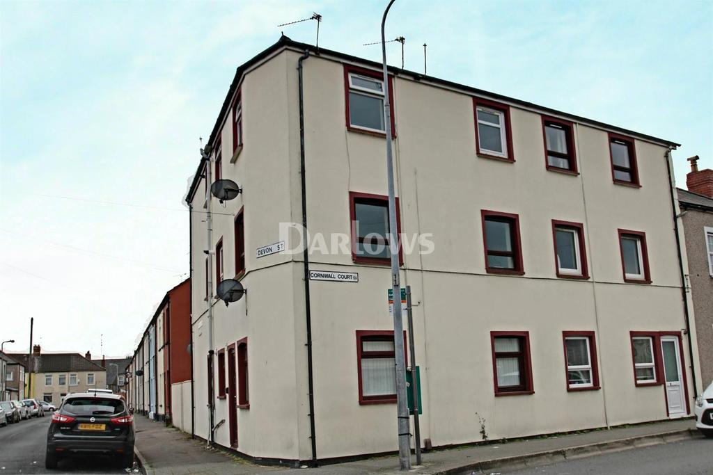 2 Bedrooms Flat for sale in Cornwall Court, Grangetown