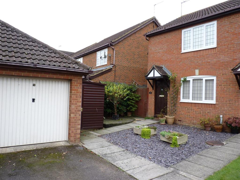 2 Bedrooms Semi Detached House for sale in Stablegate Way, Market Harborough