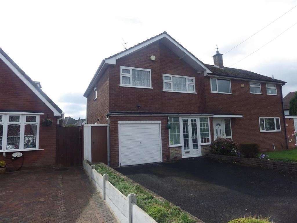 3 Bedrooms Semi Detached House for sale in Fairfield Drive, Halesowen