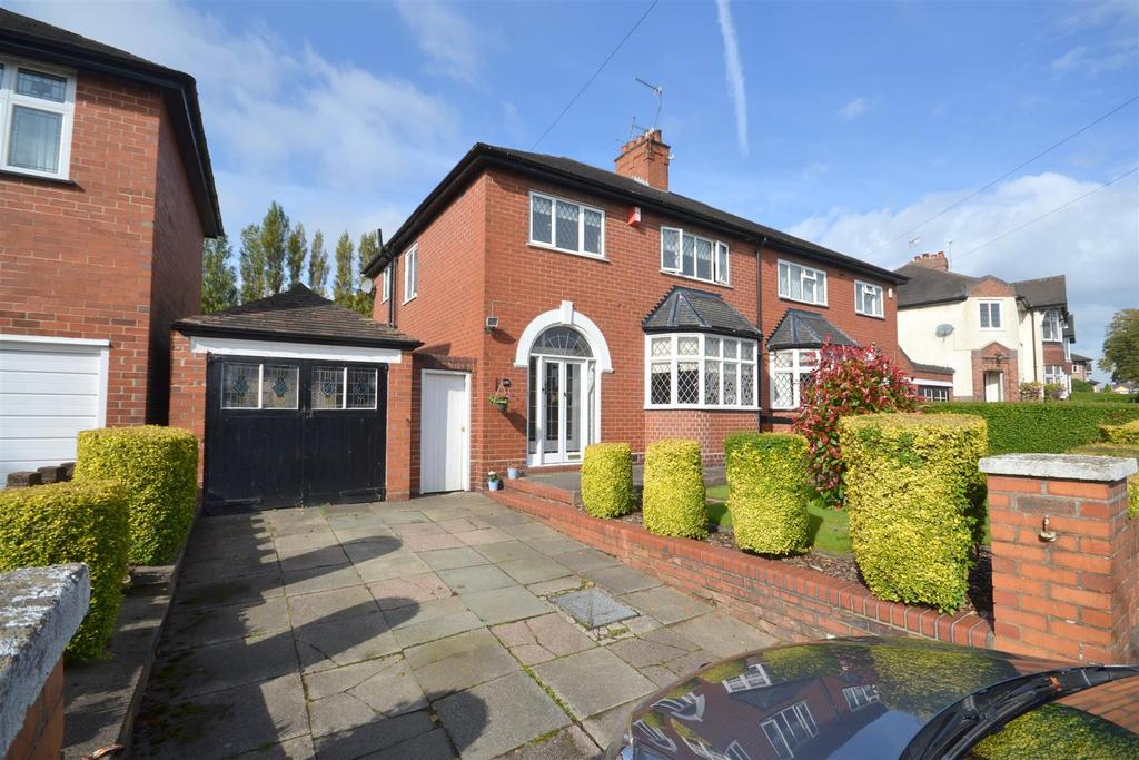 4 Bedrooms Semi Detached House for sale in The Avenue, Basford, Newcastle