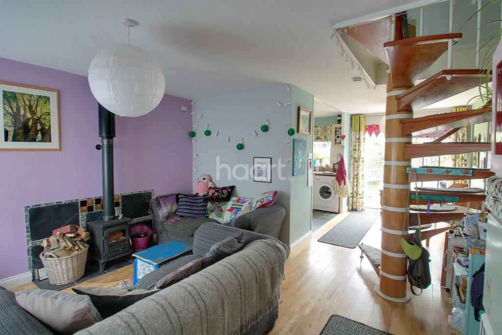 3 Bedrooms Terraced House for sale in Laurel Close, Mepal, Ely