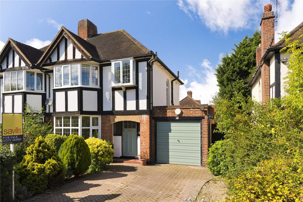 3 Bedrooms Semi Detached House for sale in Manor Drive, Esher, Surrey, KT10