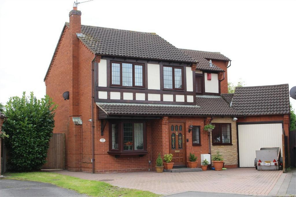 4 Bedrooms Detached House for sale in Canterbury Way, St Nicolas Park, Nuneaton, Warwickshire