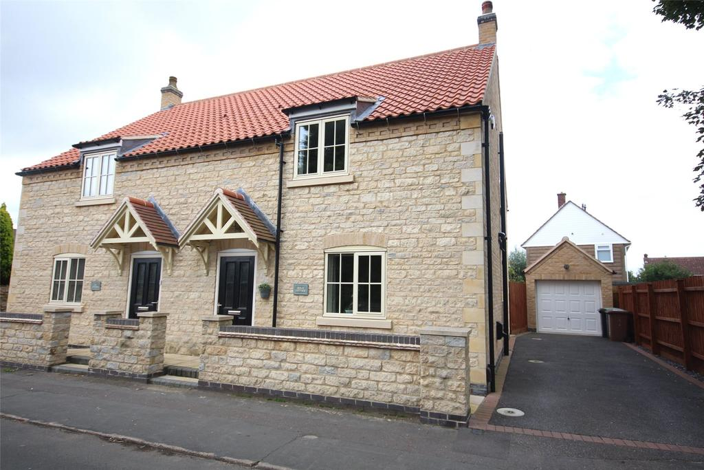 3 Bedrooms Semi Detached House for sale in Lower High Street, Waddington, LN5