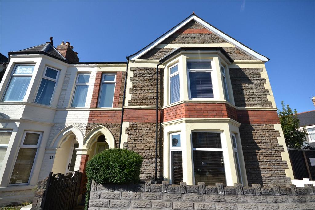 2 Bedrooms End Of Terrace House for sale in Tewkesbury Place, Cathays, Cardiff, CF24