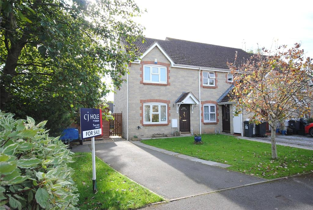 3 Bedrooms Semi Detached House for sale in Felsberg Way, Cheddar, BS27