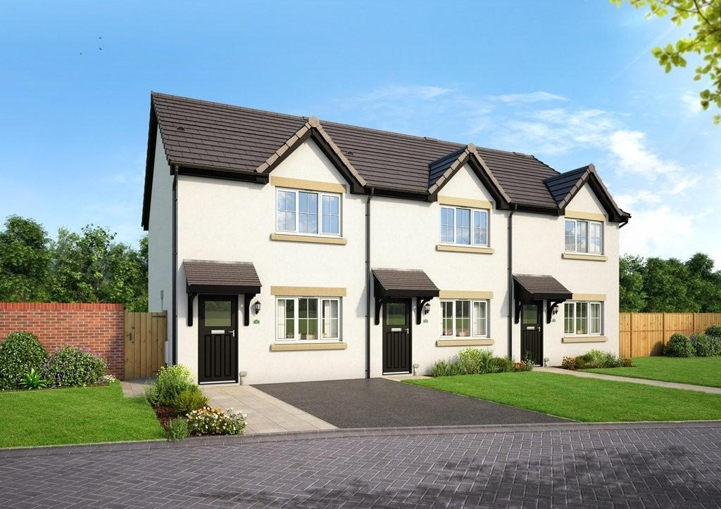 2 Bedrooms End Of Terrace House for sale in Plot 18, The Lindale, Blenkett View