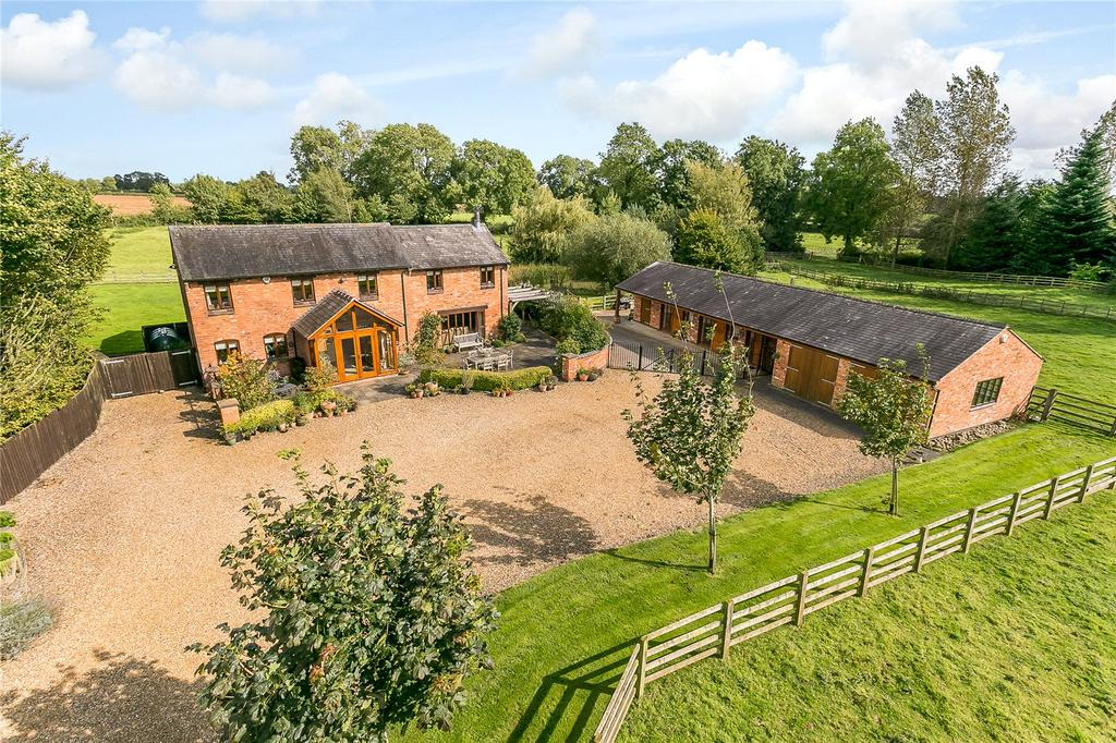 4 Bedrooms Detached House for sale in Lutterworth Road, Gilmorton, Lutterworth, Leicestershire