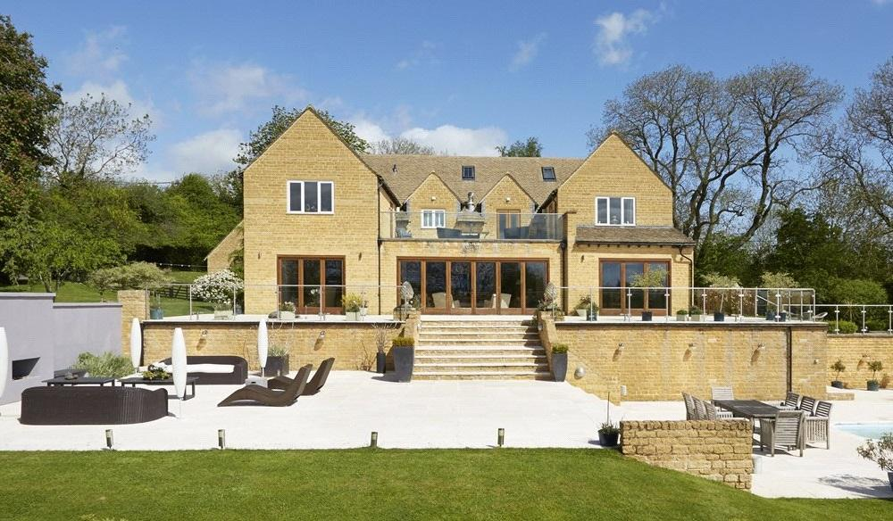 6 Bedrooms Detached House for sale in Syreford, Andoversford, Cheltenham, Gloucestershire