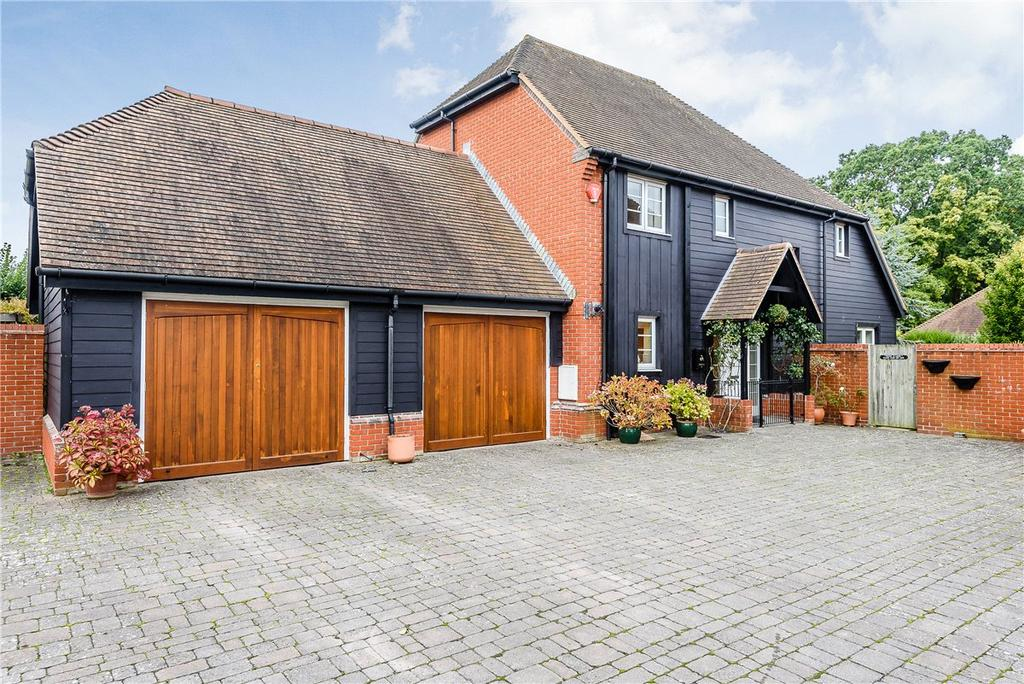 4 Bedrooms Detached House for sale in Mortons Lane, Upper Bucklebury, Reading, Berkshire, RG7