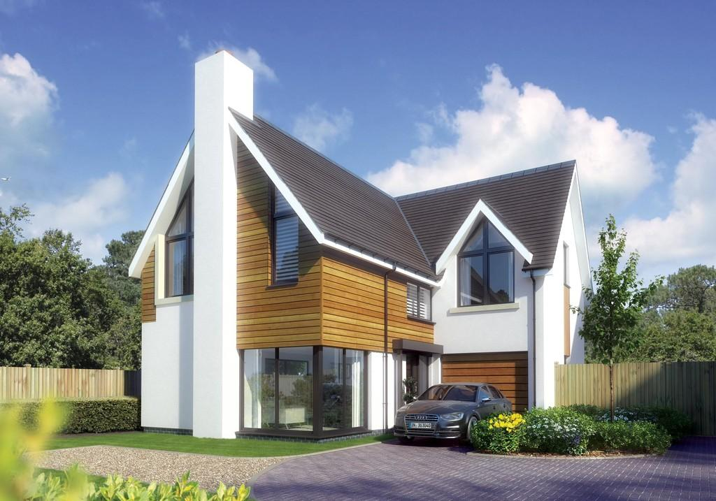 4 Bedrooms Detached House for sale in Sky End Lane, Hordle