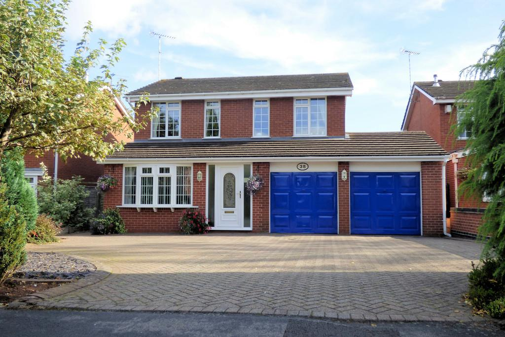 4 Bedrooms Detached House for sale in Meadow View, Rolleston-on-Dove