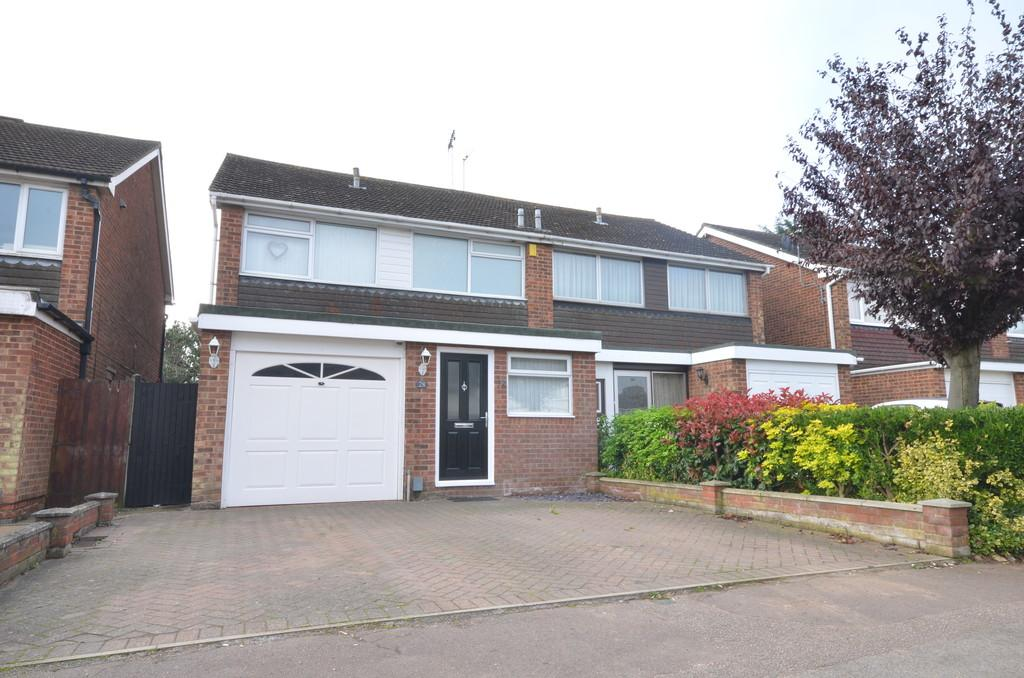 3 Bedrooms Semi Detached House for sale in Lucy Close, Stanway, CO3 0HZ