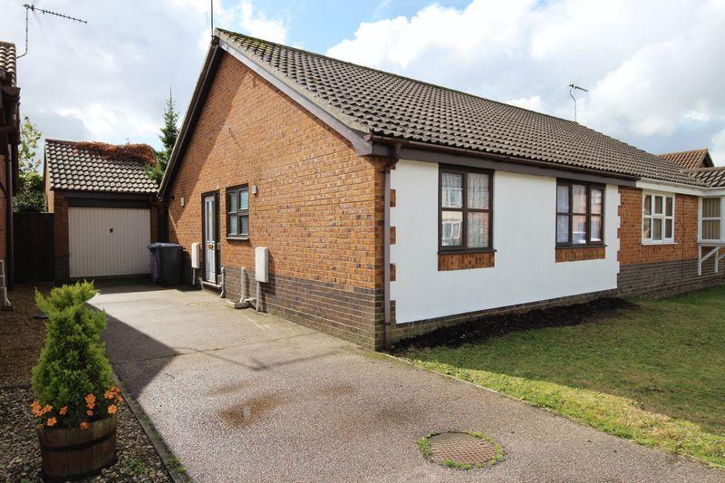 2 Bedrooms Semi Detached Bungalow for sale in Green Fleet Drive, Lowestoft