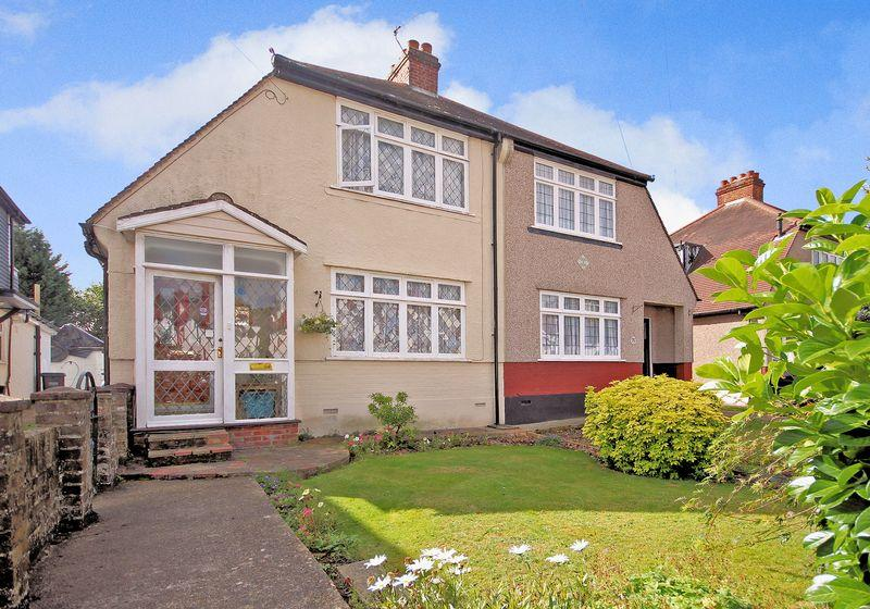 2 Bedrooms Semi Detached House for sale in Links View Road, Shirley