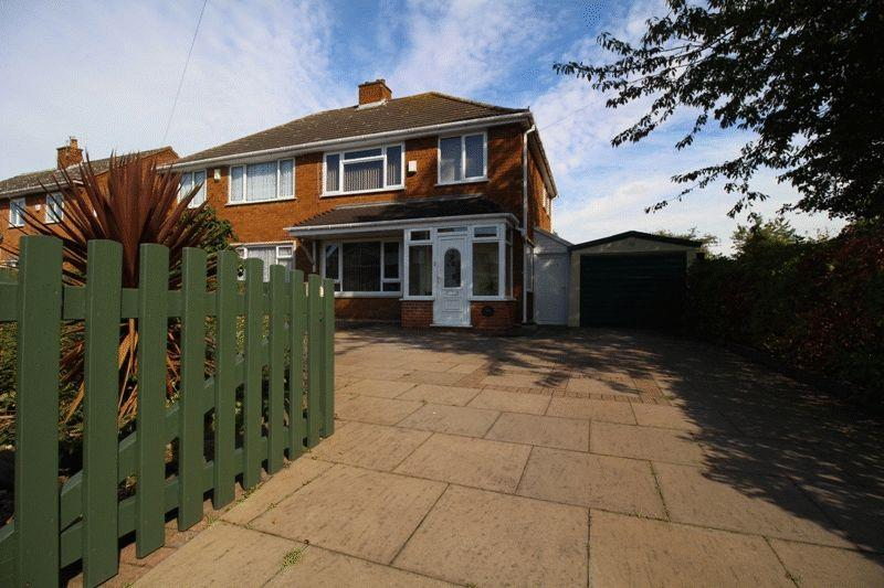 3 Bedrooms Semi Detached House for sale in Kent Road, Woods Estate, Wednesbury