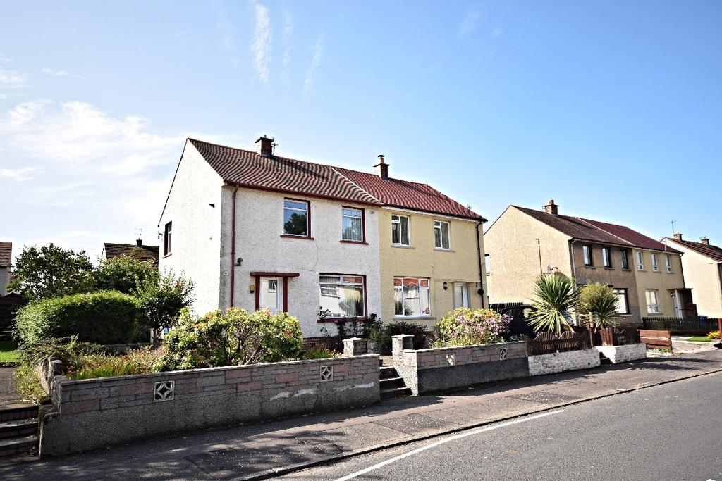2 Bedrooms Semi-detached Villa House for sale in James Campbell Road , Ayr, Ayrshire, KA8 0SB