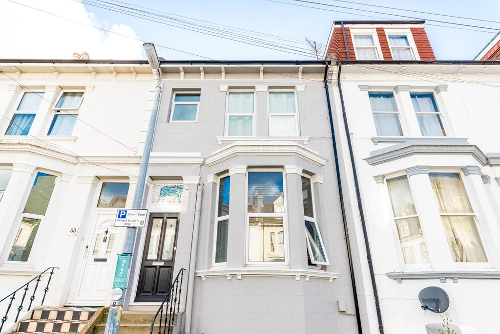 1 Bedroom Ground Flat for sale in Vere Road, Brighton, BN1