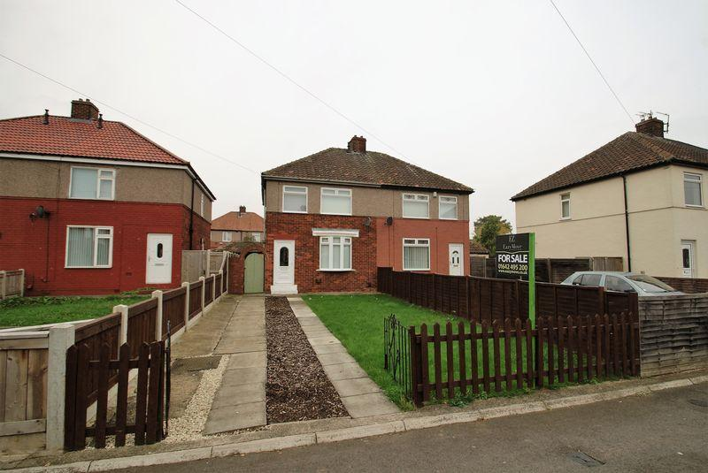 3 Bedrooms Semi Detached House for sale in Willow Road, Stockton-On-Tees