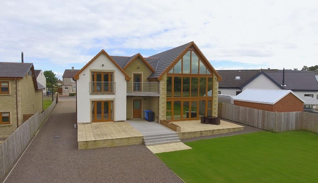 4 Bedrooms Detached House for sale in Udston Mill Road, Stonehouse, South Lanarkshire, ML9 3JL