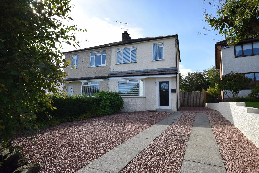 2 Bedrooms Semi Detached House for sale in Rockmount Avenue, Thornliebank, Glasgow, G46 7DJ