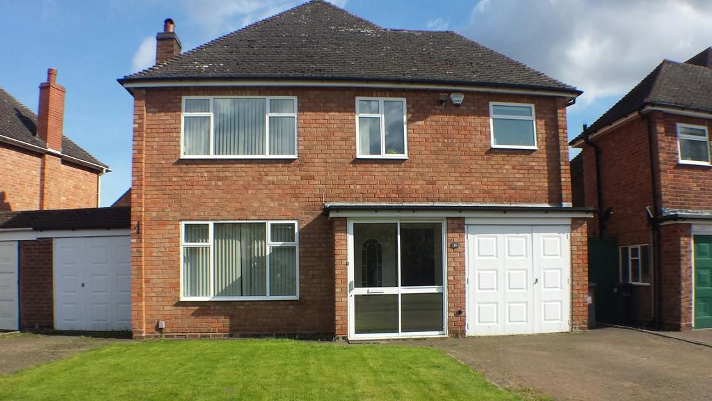 4 Bedrooms Detached House for sale in Southfields Road, Solihull