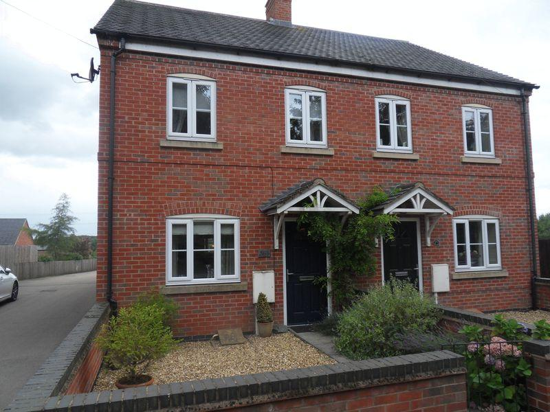 3 Bedrooms Semi Detached House for sale in Station Road, Bagworth