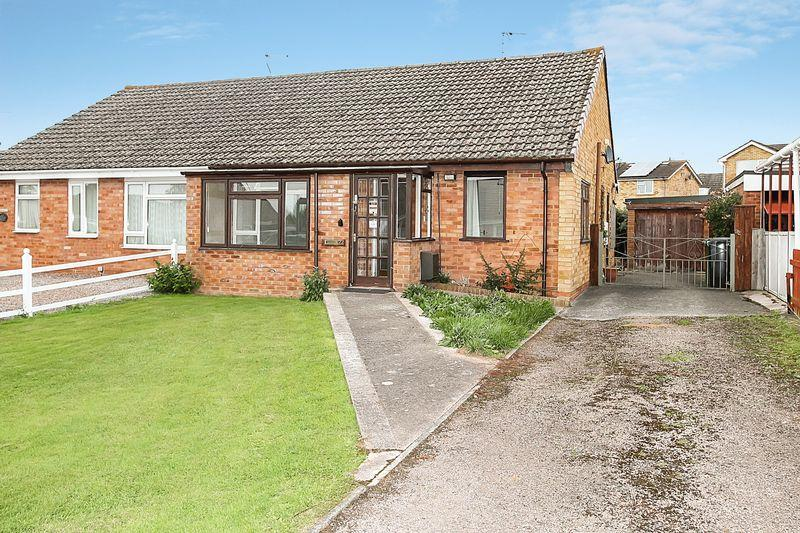 2 Bedrooms Semi Detached Bungalow for sale in The Hollies, Hereford