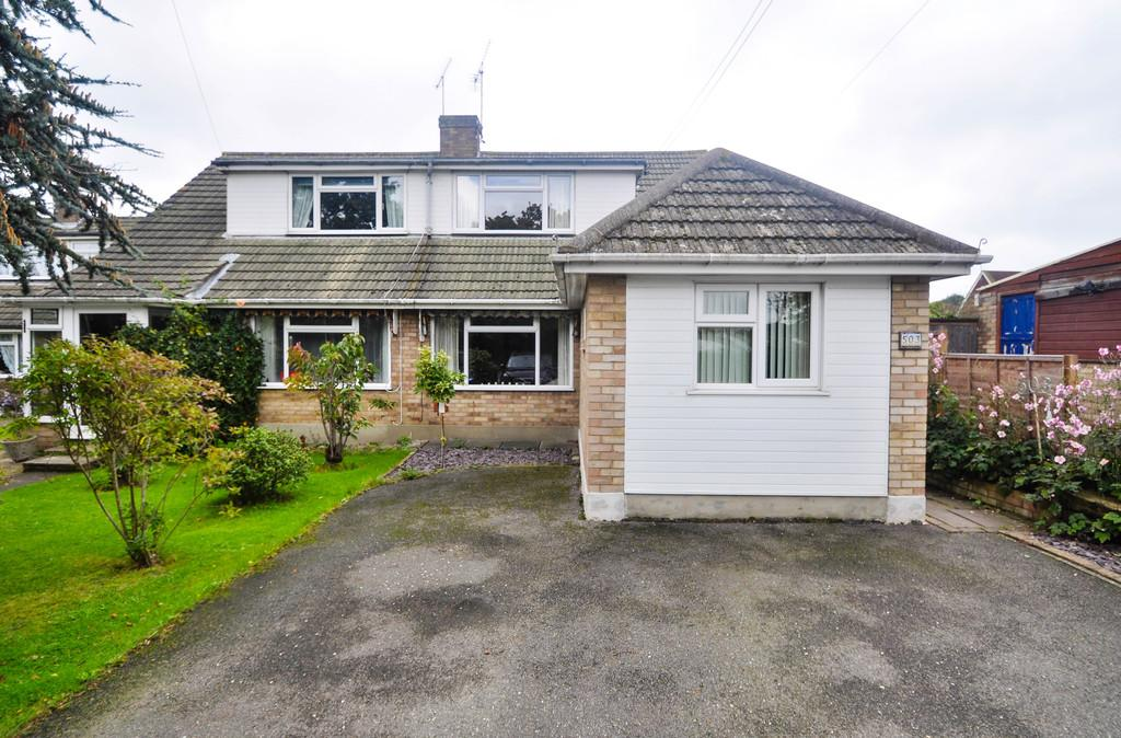 3 Bedrooms Semi Detached House for sale in 503 Daws Heath Road